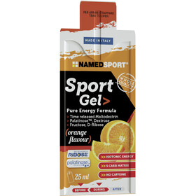 NAMEDSPORT Sport Energy Caja de Geles 15 x 25ml, Orange